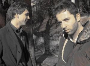 Vanni Santoni e Gregorio Magini