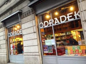 Libreria Odradek di Milano