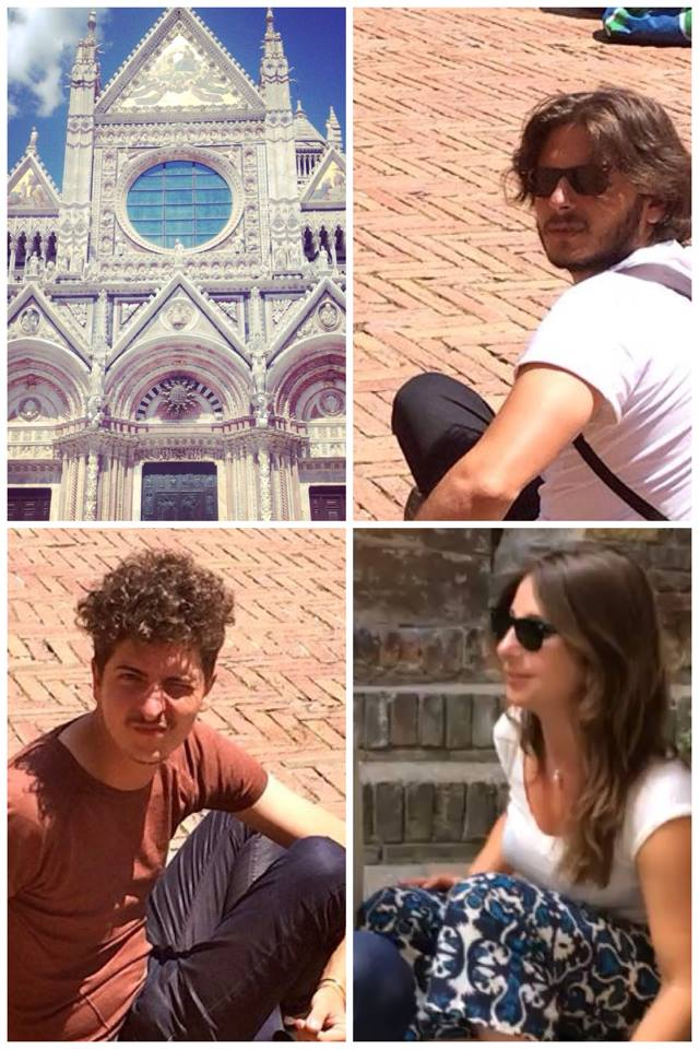 Alcide Pierantozzi, Elena Dal Molin e Andrea De Spirt a Siena