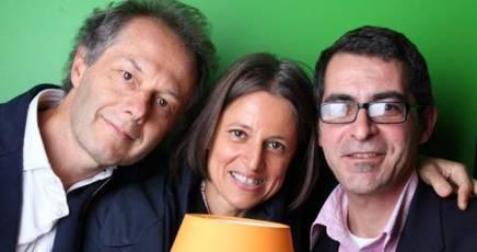 Marco Zapparoli, Claudia Tarolo e Patrizio Zurru