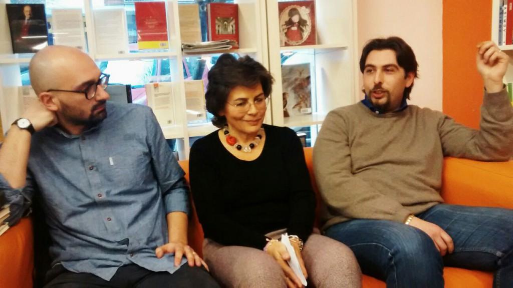 Massimiliano Borelli, Emanuela D'Alessio, Alessandro Fratini