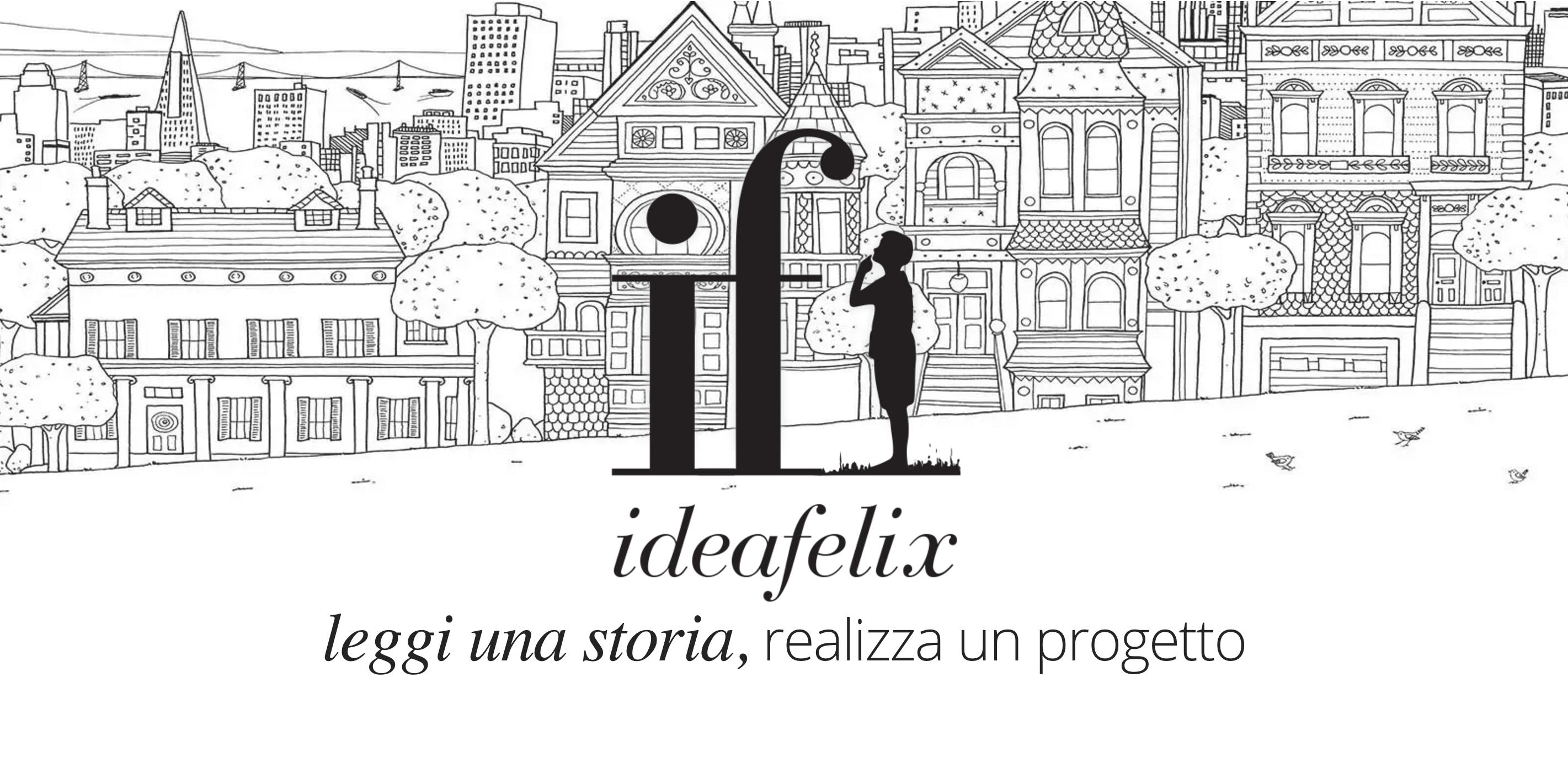 ideafelix, compri un libro e finanzi un progetto